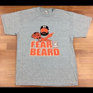 MLB S.F. Giants Brian Wilson #38 'Fear The Beard'